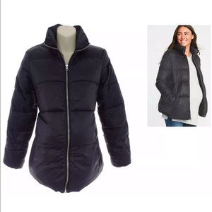 Sz Small FLEECE-LINED MATERNITY PUFFER COAT Jacket